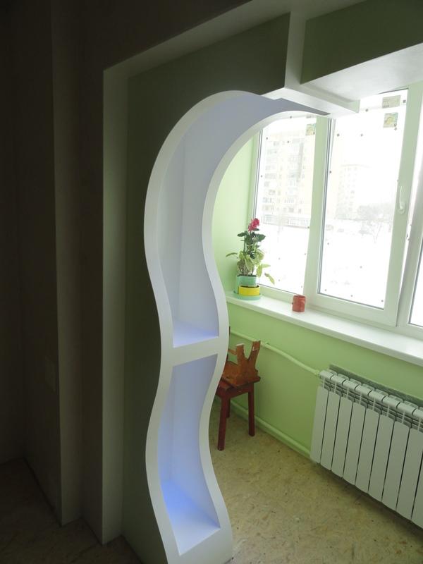 арка с закругленными углами