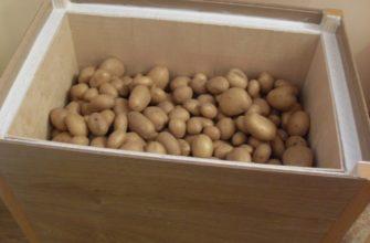 ящик для хранения картошки на балконе зимой