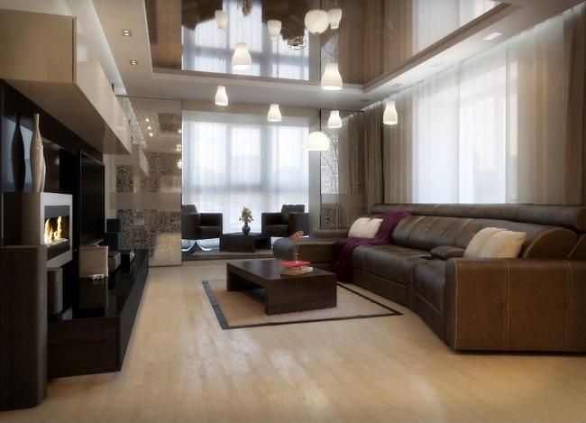 гостинная с креслами на балконе