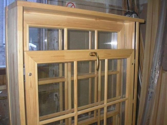 деревянные английские окна
