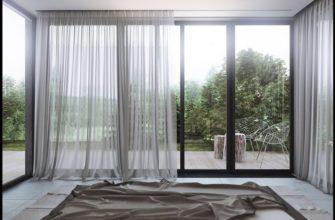 окна в пол для загородного дома