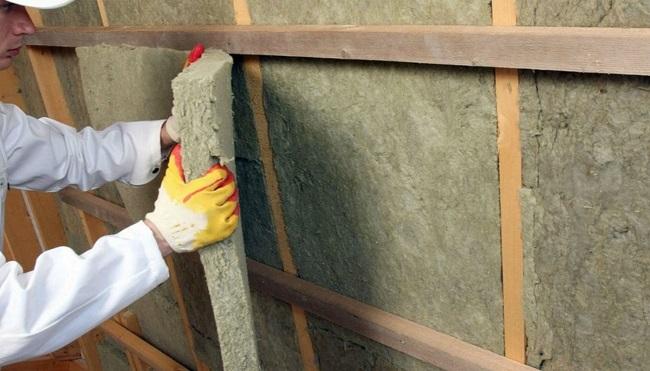 шумоизоляция стен утеплителем на основе ваты