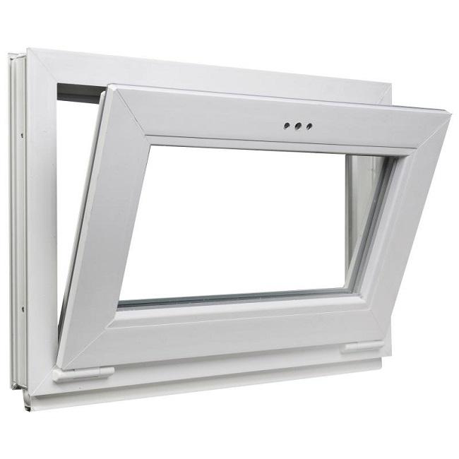 горизонтальная подвесная створка окна