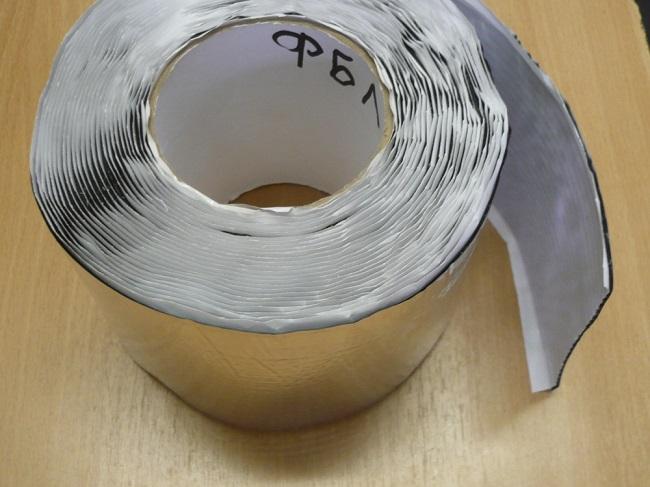 Лента бутиловая металлизированная для окон