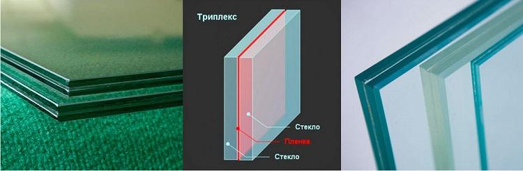 виды стекол для баклонных дверей