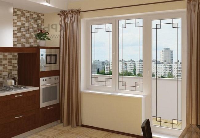 плюсы и минусы стеклянных балконных дверей