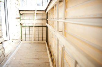 обрешетка на балкон своими руками пошаговая инструкция по монтажу