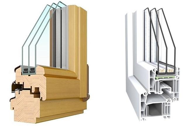 что лучше пластиковые или деревянные окна?
