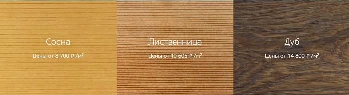 расценки деревянных окон за кв. м.