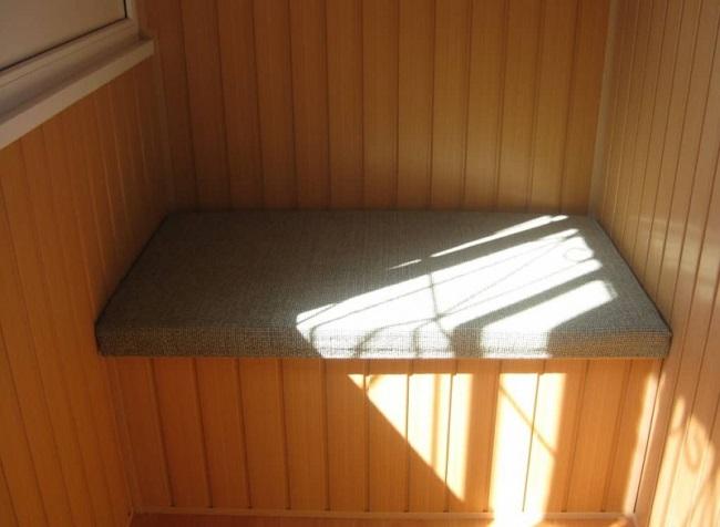 подушка на ящик-скамейку