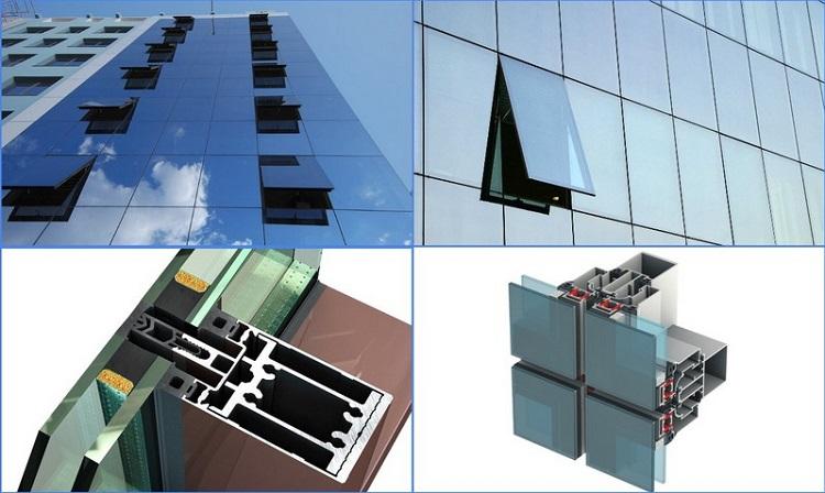 что такое структурное остекление фасадов