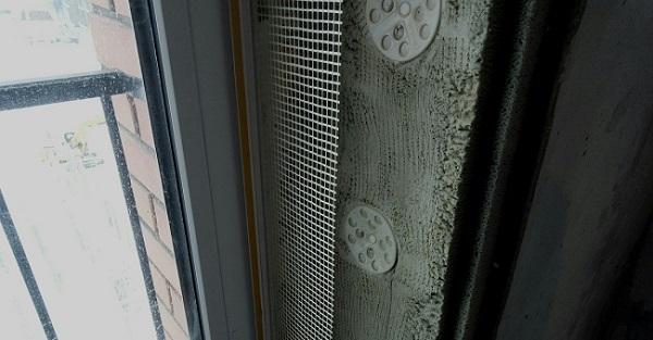 армирующая сетка для откосов