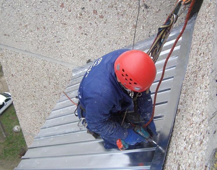 ремонт крыши балкона последнего этажа