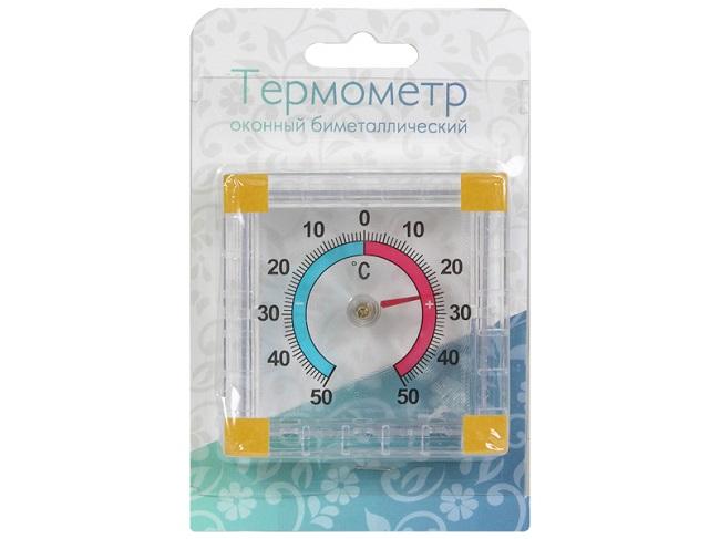 биметаллический градусник