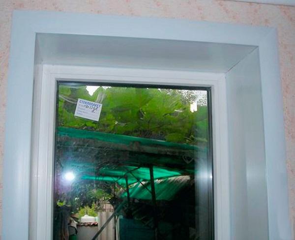 откосы из пвх панелей на пластиковое окно
