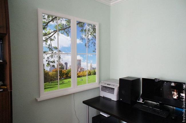 виртуальное фальш-окно