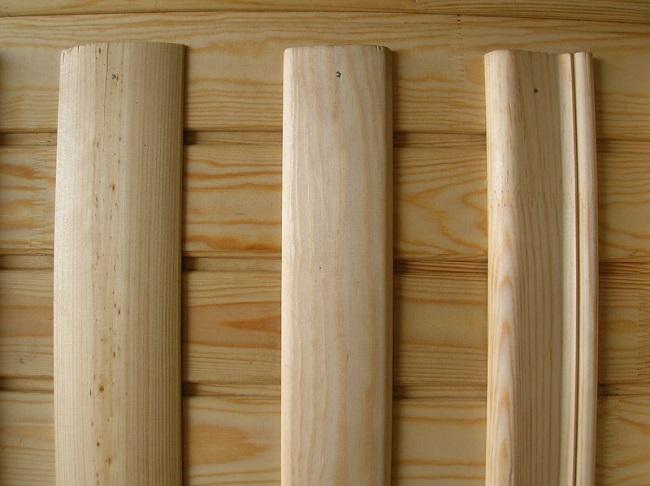 нащельники деревянные