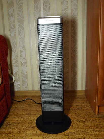 керамический обогреватель Polaris PCSH 0520 вживую