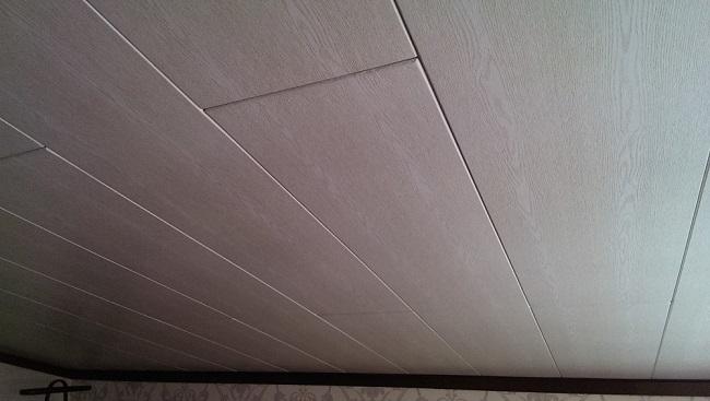 потолок из мдф панелей