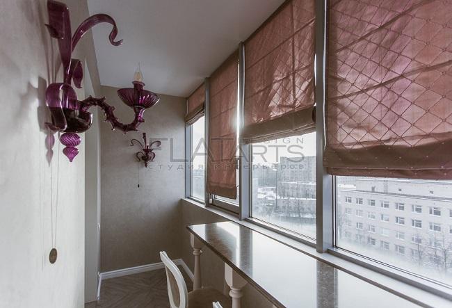 артдеко на балконе