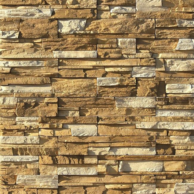 колотый камень для стен