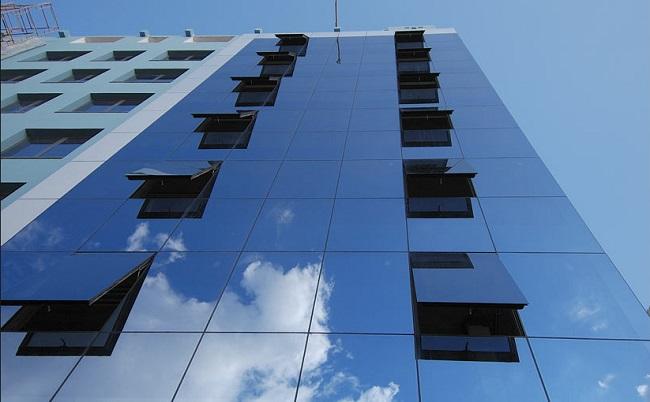 структурно остекление фасадов зданий