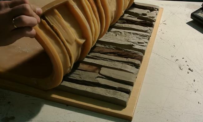 изготовление декоративного камня