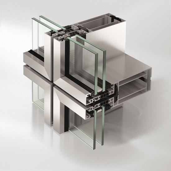 модульная система остекления фасада зданий