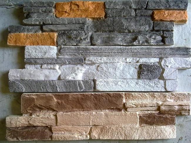 декоратвиные каменные панели из гипса