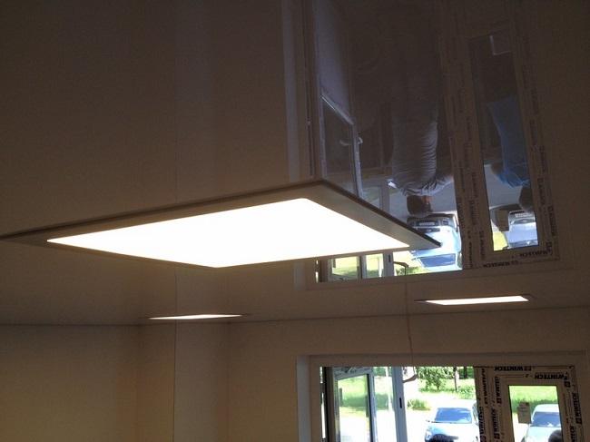 светодиодная панель для потолка