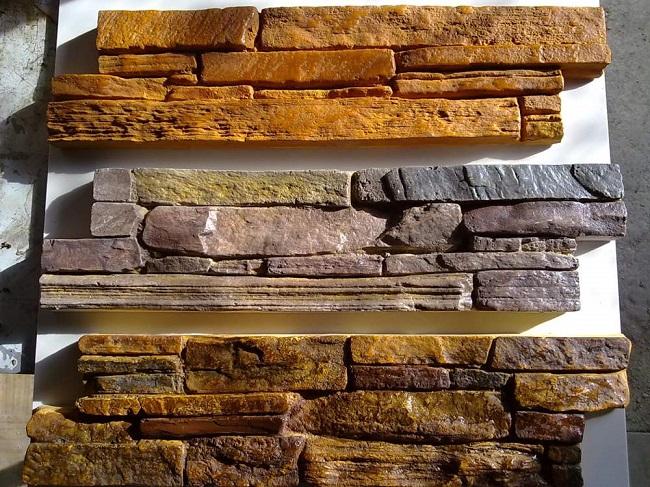 панели декоративного камня