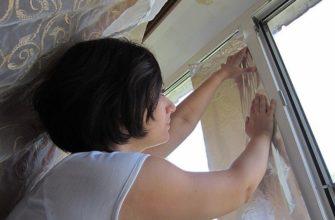 можно ли клеить фольгу на окна