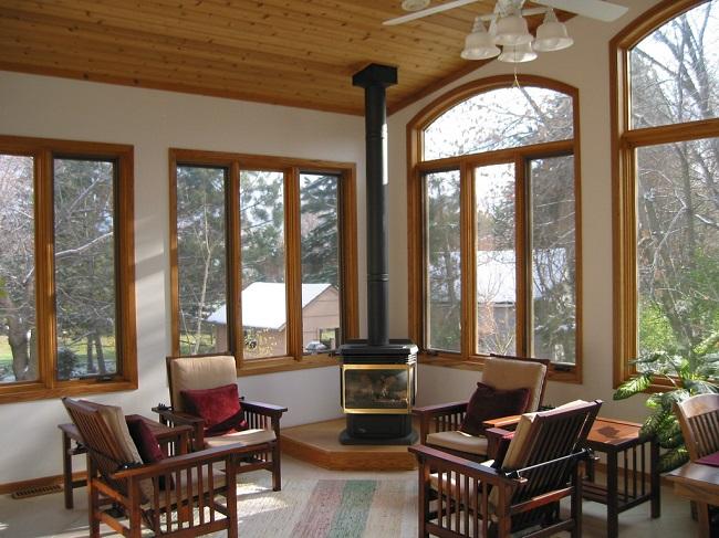 деревянные окна в частный дом