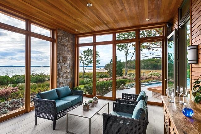 деревнянные витражные окна для частного дома