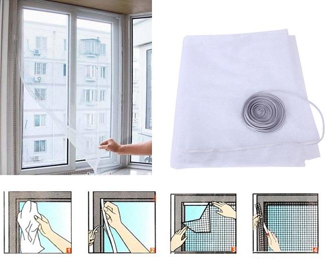 инструкция по установке москитной сетки на липучках