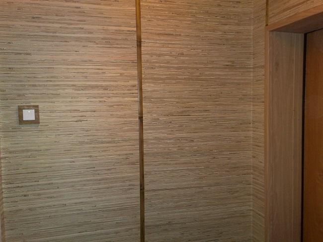 бамбуковые панели в отделке стен