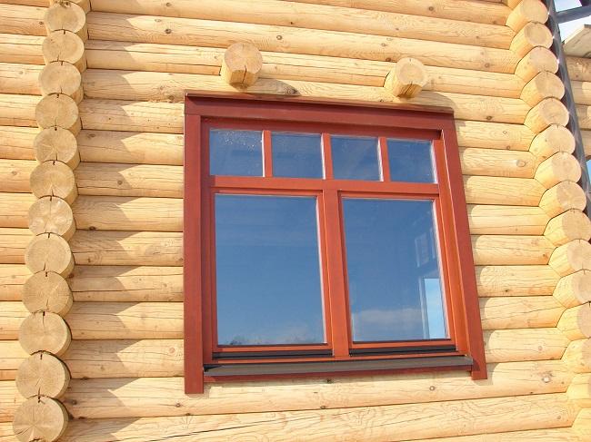пластиковые наличники для деревянного дома