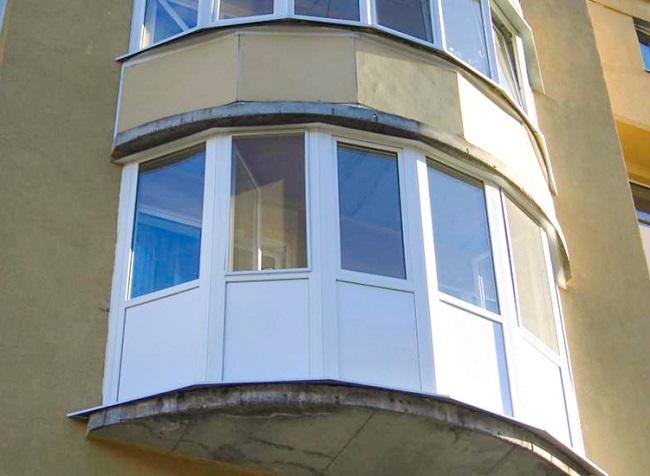 эркерное остекление балкона