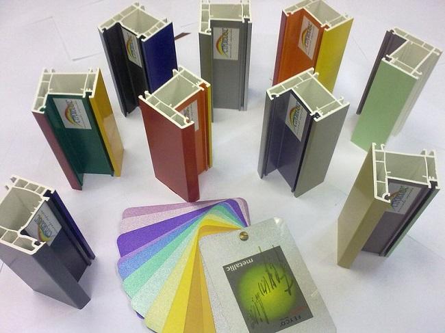 окрашенные окна металлик