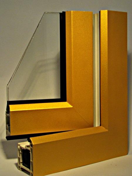 золотистые окна