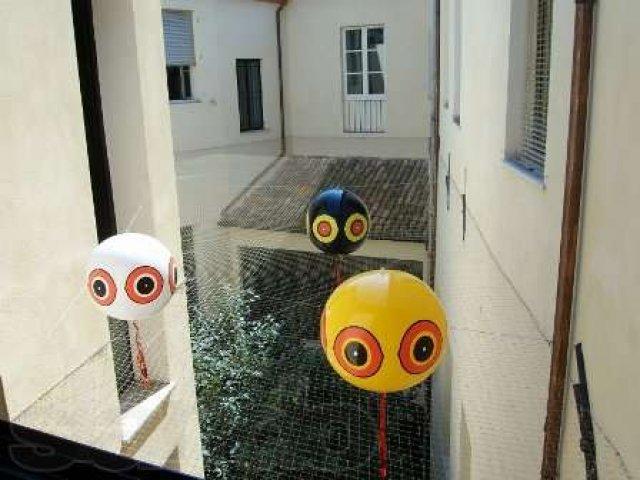 шарики для отпугивания голубей