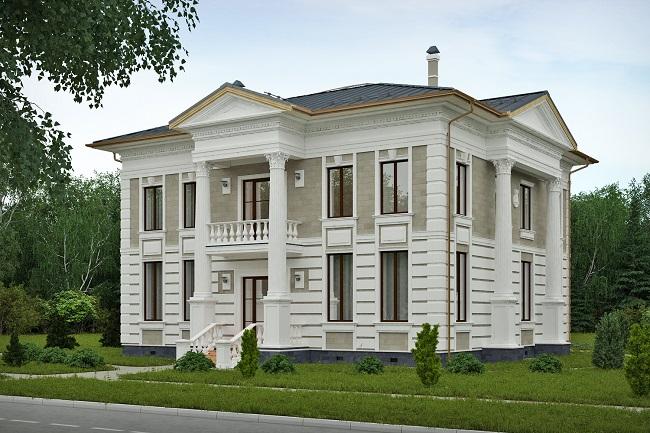 окна для дома в классическом стиле