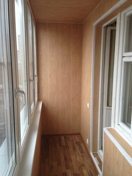 отделка хрущевского балкона мдф панелями