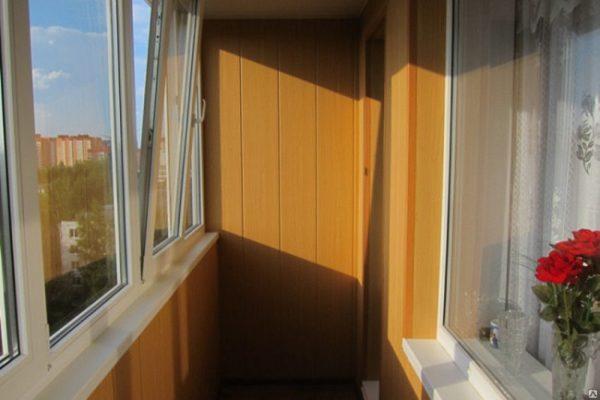 отделка балкона в хрущевке пвх панелями