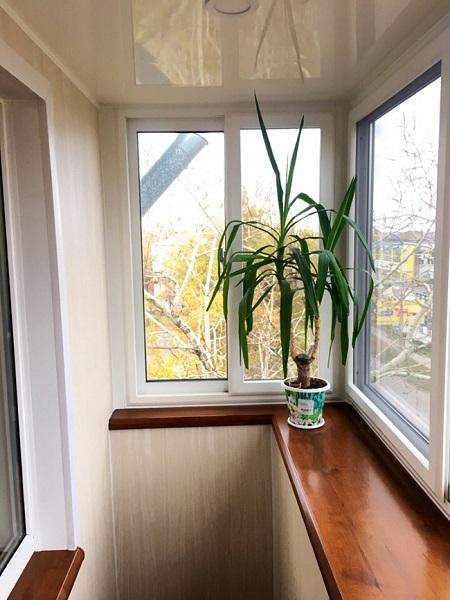 выбор отделки хрущевского балкона