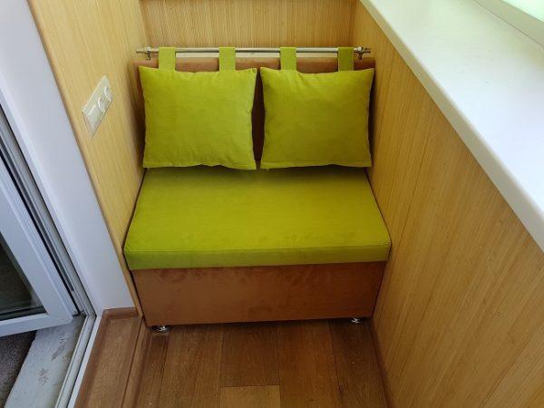 диванчик для хрущевского балкона
