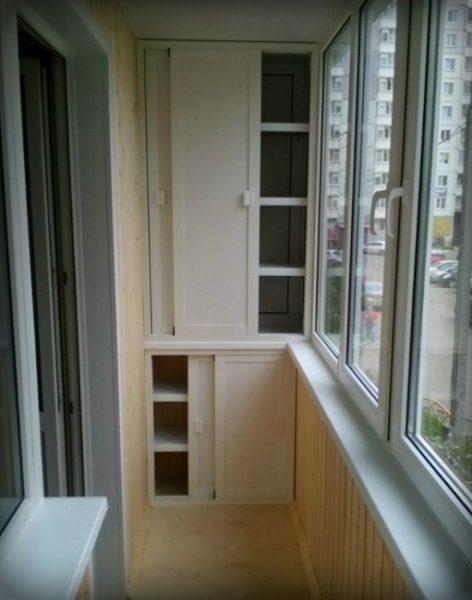 место для хранения закаток на хрущевском балконе