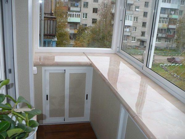 балкон с выносом дизайн