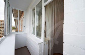 отделка балкона в хрущевке краской
