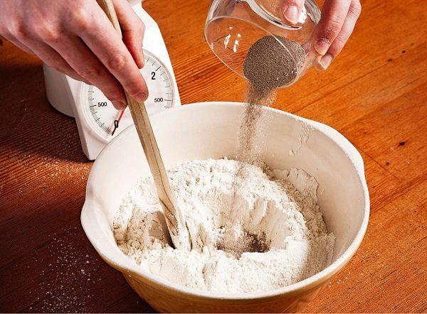 мука с песком для оконной замазки